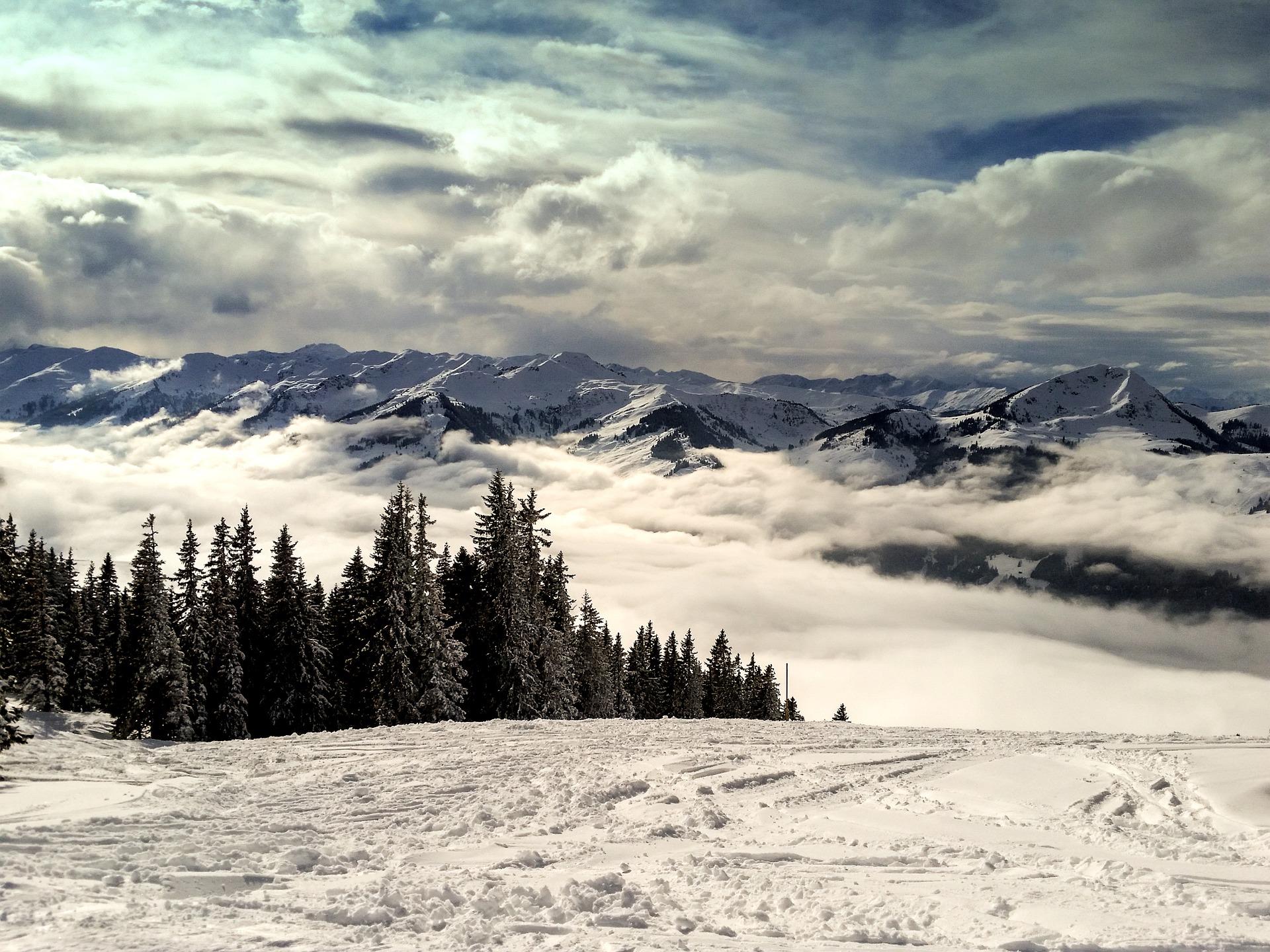 skijalište, sneg, zimovanje, alpi, odmor, skijanje