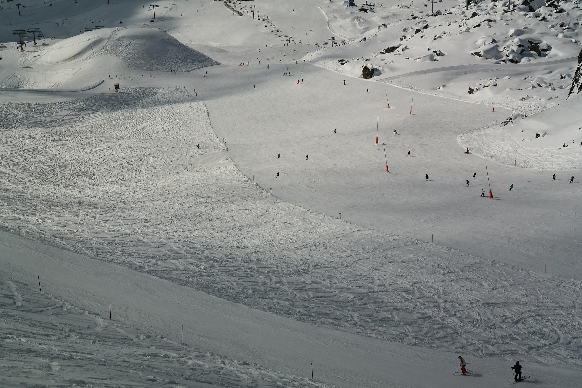 austrija, sneg, zimovanje, skijanje, bord, alpi