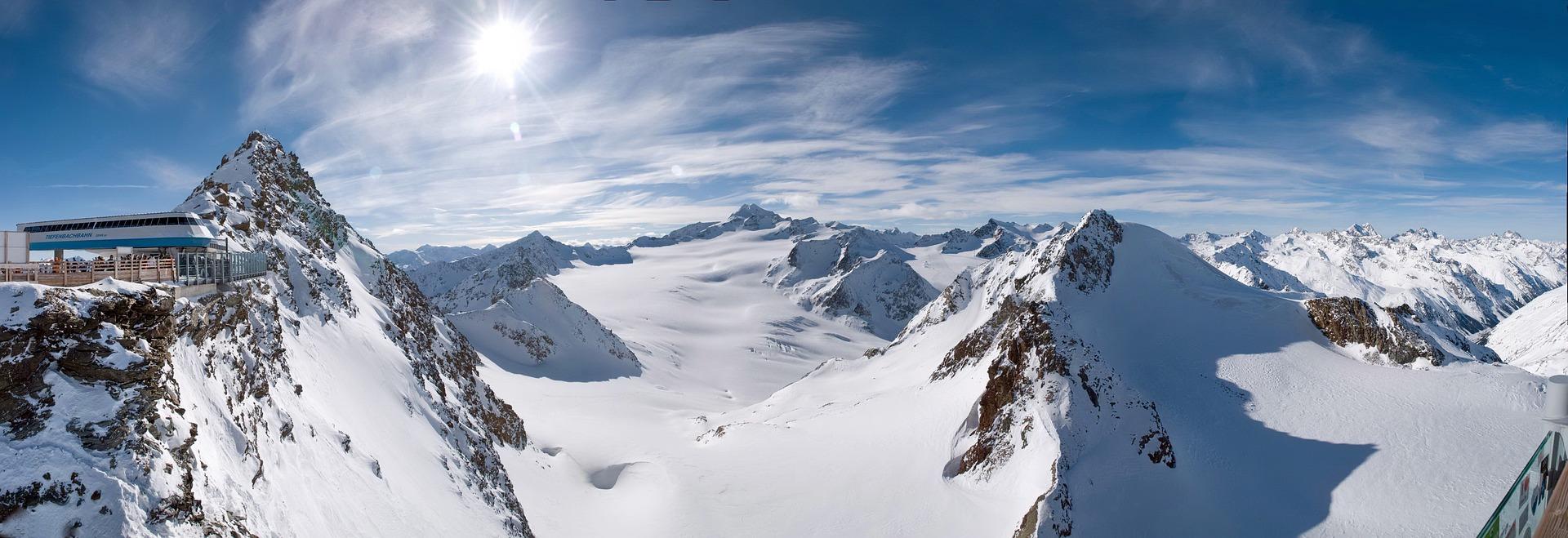 skijalište, alpi, sneg, zima, zimovanje, skije, bord