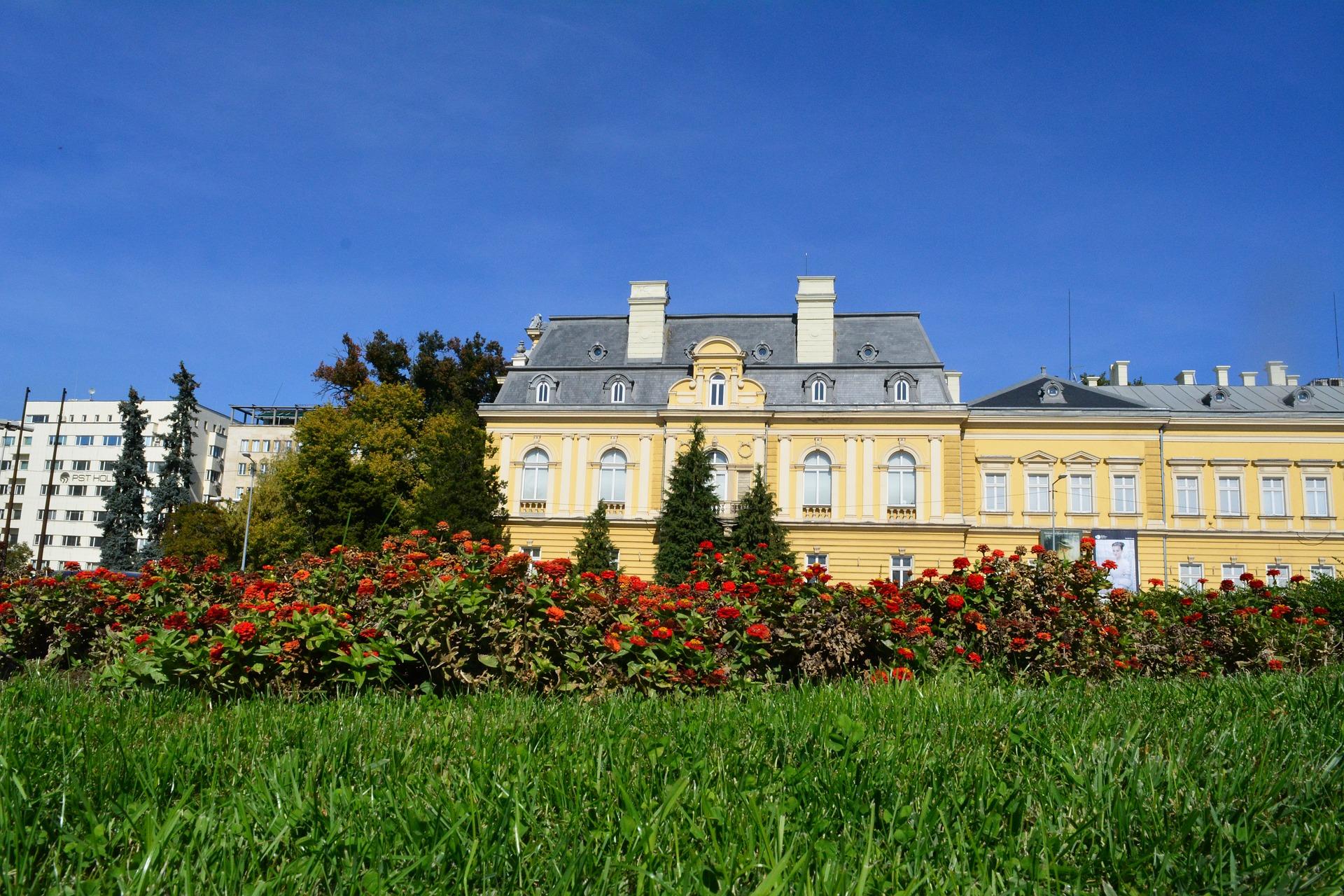 muzej, galerija, umetnost, u bugarskoj, zima