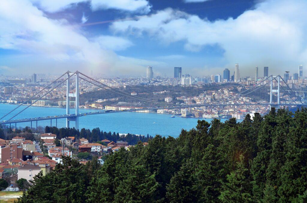 istanbul, turska, evropa, azija, grad, destinacija