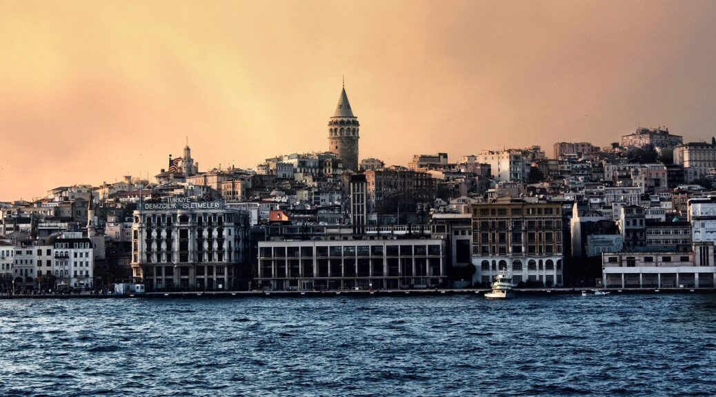 turska, grad, bosfor, evropa, azija, grad